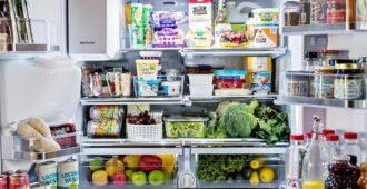 оптимизация пространства в холодильнике